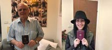 תמונות מקבלי אזרחות רומנית טריים - בסיוע משרד עו